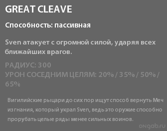 Great Cleave