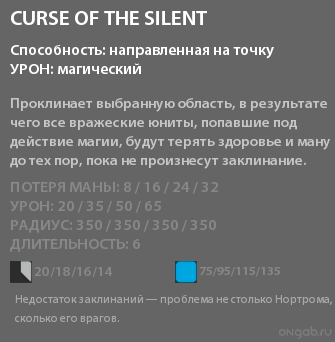 Curse of the Silent