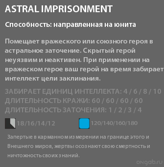 Astral Imprisonment